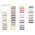 Calzoleria Rivolta | Stringhe Strupai | Un mondo di colori Tabella di riferimento per i colori delle stringhe Strupai