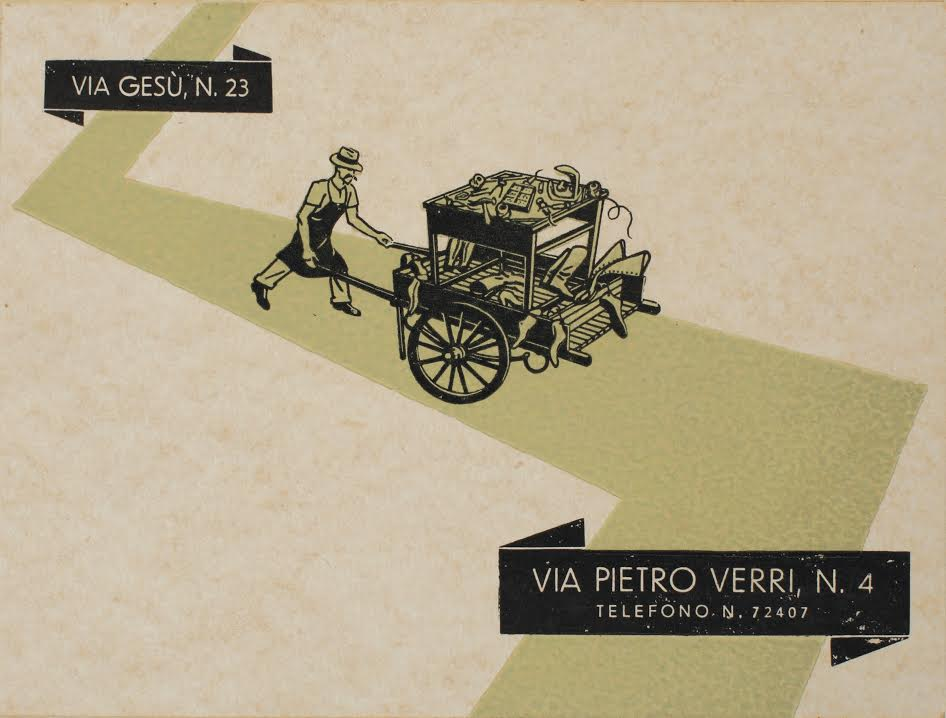 Calzoleria Rivolta: da Via del Gesù a via Pietro Verri