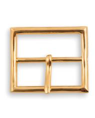 Calzoleria Rivolta | Fibbia Cintura rettangolare finitura oro