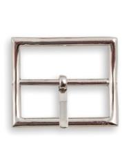 Calzoleria Rivolta | Fibbia Cintura rettangolare finitura palladio