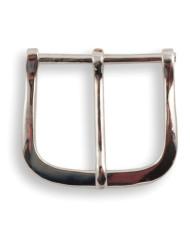 Calzoleria Rivolta | Fibbia Cintura tonda finitura palladio