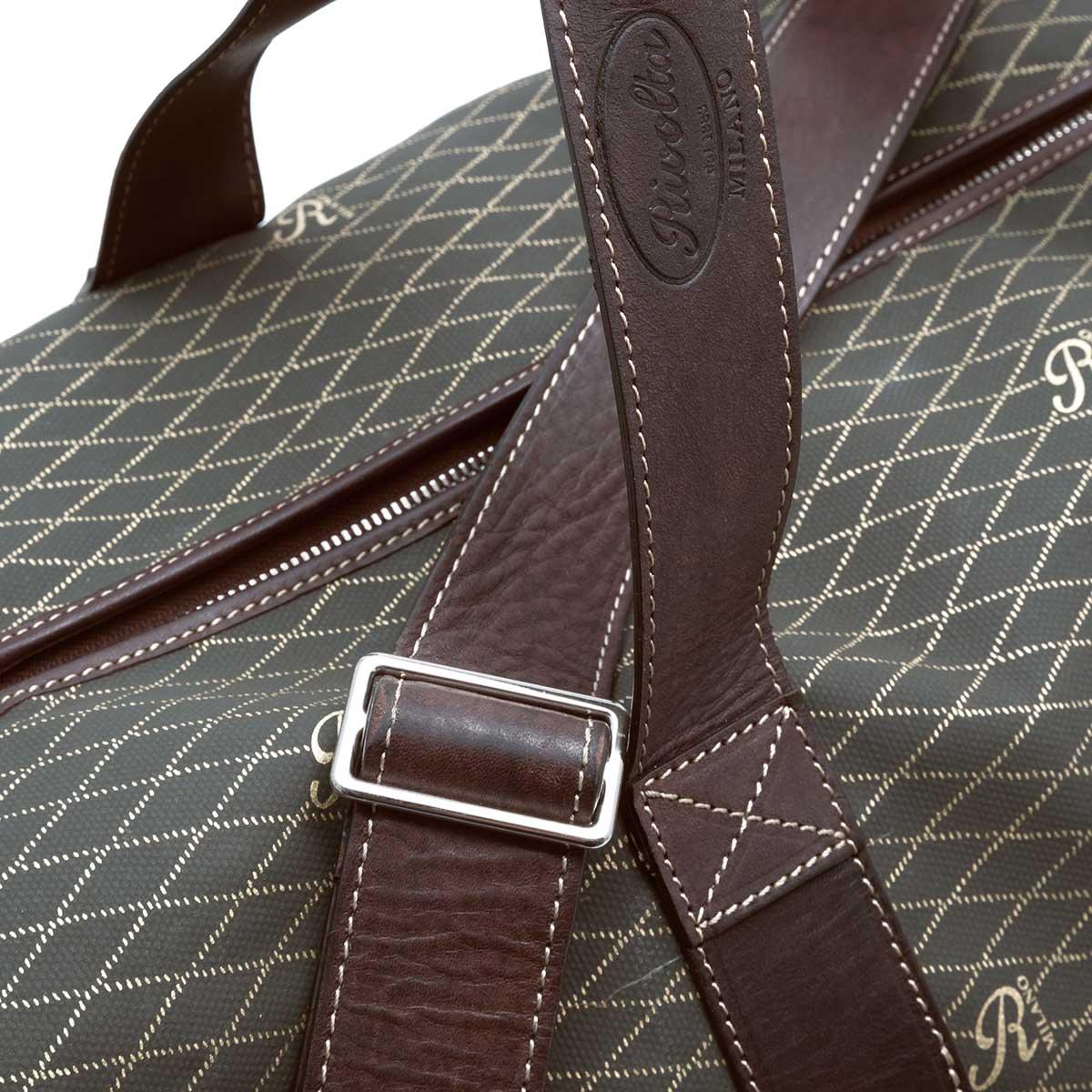 Travel bag, texture Rivolta